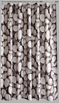 Aqualona Polyester Shower Curtain 180x180cm Pebbles