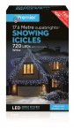 Premier Decorations Supabrights™ Snowing Icicles 720 LED - White