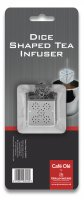 Café Olé Stainless Steel Dice Tea Infuser with Tray