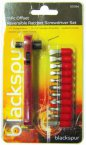 Blackspur 11 Piece Offset Reversible Ratchet Screwdriver Set
