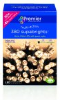 Premier Decorations Supabrights™ Multi-Action 380 LED - Warm White