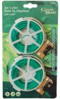 Green Blade 2 Piece 25m Twist Tie Dispenser with Cutter