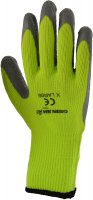 Green Jem Hi-Vis Winter Work Gloves - Green Extra Large