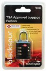 Blackspur TSA Approved Luggage Padlock