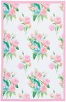 KitchenCraft Rose Tea Towels Set of Two