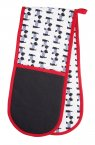 KitchenCraft Westie Double Oven Glove 87cm x 19cm
