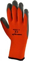 Green Jem Hi-Vis Winter Work Gloves - Orange Extra Large