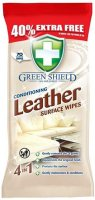 Greenshield Leather Conditioner Wipes