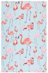 KitchenCraft Flamingo Tea Towels Set of 2