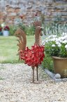 Smart Solar Menagerie Ornament - Bertie Rooster