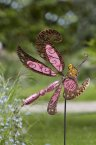 Smart Garden Whimsical Dragonfly Delight Stake - Pink