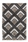 Think Rugs Noble House NH8199 Silver - Various Sizes