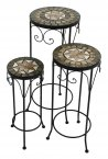 Summer Terrace Brava Plantstand Set Of 3 Tall