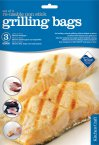 Kitchen Craft Set of 3 Reusable Non-Stick Grill Bags