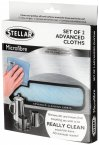 Stellar Kitchen Microfibre Cleaning Cloths (Pack of 2)